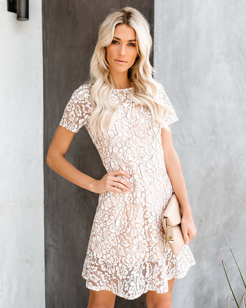 Angel On Earth Lace Dress