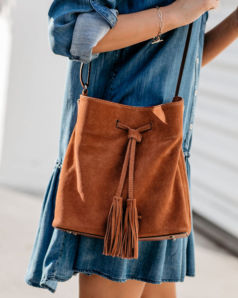 April Bucket Bag - Tan