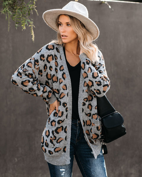 PREORDER - Are You Kitten Me Pocketed Cardigan