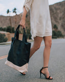 Francesca Everyday Tote - Black - FINAL SALE