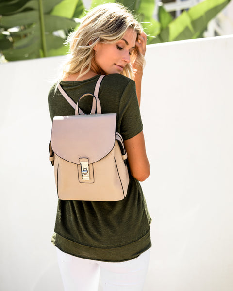 Asher Backpack - Nude