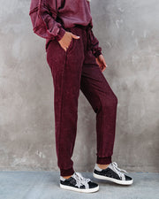As It Seams Cotton Blend Pocketed Knit Joggers