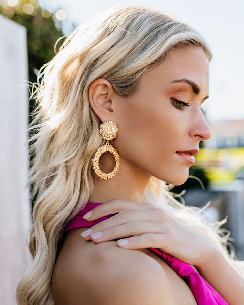 Athens Statement Earrings