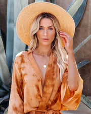 Aussie Straw Hat - Natural view 2