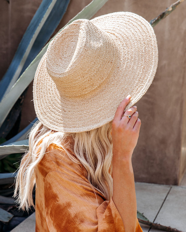 Aussie Straw Hat - Natural view 4