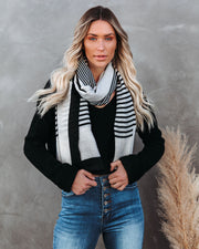 Avenue Striped Scarf - FINAL SALE view 1