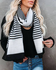 Avenue Striped Scarf - FINAL SALE view 3