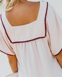 Azzalea Embroidered Shift Dress