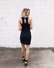 Belmont Bodycon Dress - Black