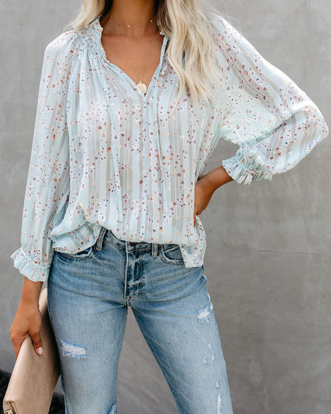 Baby Baby Floral Shimmer Blouse