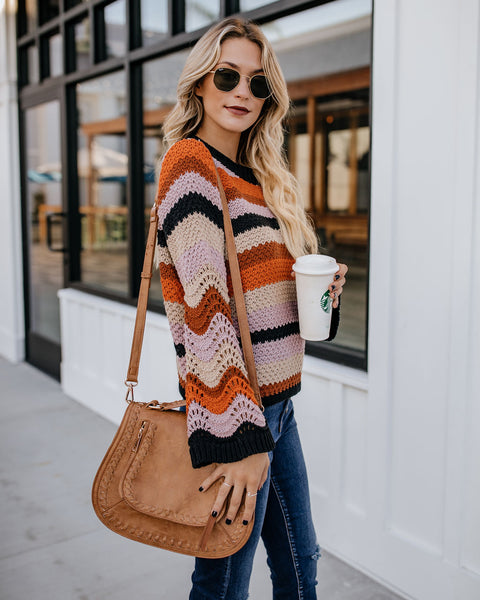 Baltimore Striped Knit Sweater