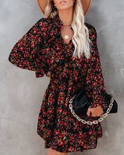 PREORDER - Bash Floral Tiered Babydoll Dress