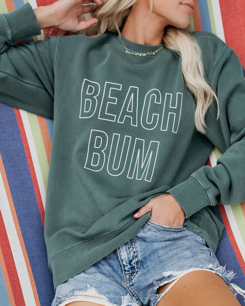 Beach Bum Cotton Pullover