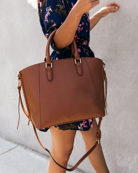 Big City Crossbody Handbag - Tan
