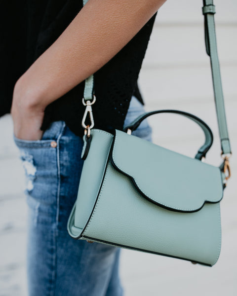 Stella Crossbody Bag - Mint