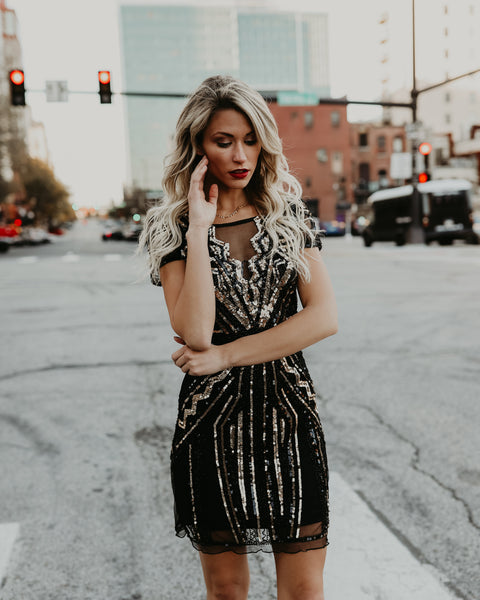 Elitist Sequin Dress