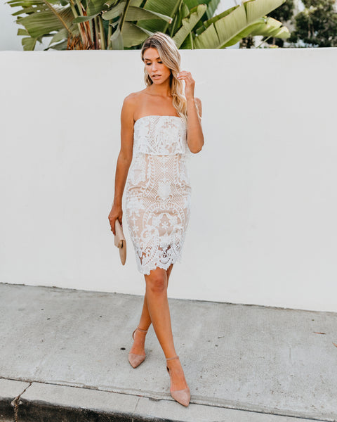 Blissful Lace Dress