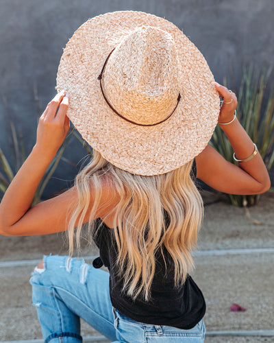Boardwalk Raffia Sun Hat