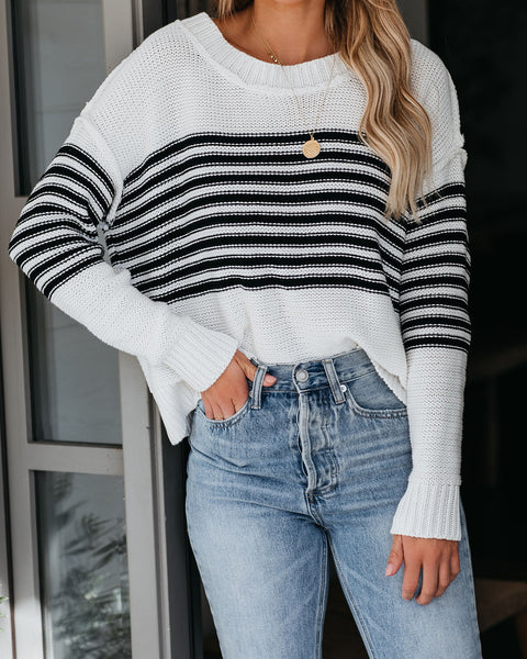 Bobby Cotton Striped Sweater - FINAL SALE
