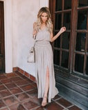 Boho Beauty Adjustable Maxi Dress - FINAL SALE