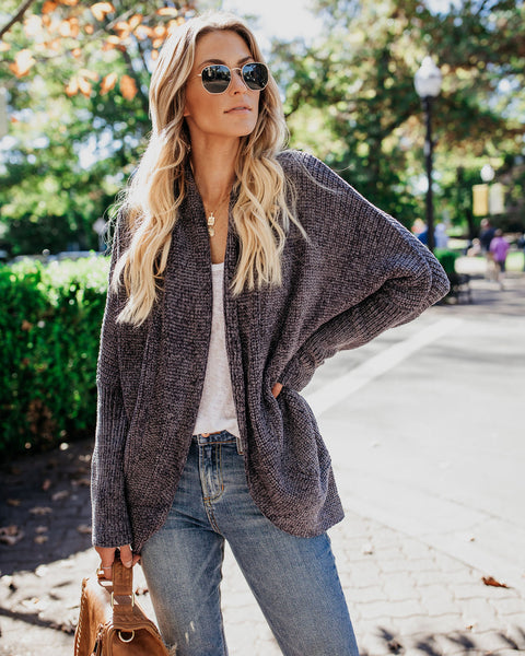 Bonfire Dolman Knit Cardigan