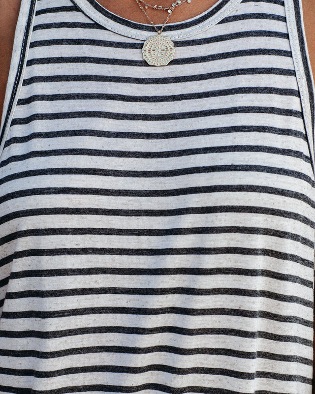 Bonner Striped Racerback Tank