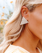 Bracha - Tania Triangle Earrings view 1