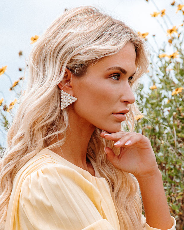 Bracha - Tania Triangle Earrings view 4