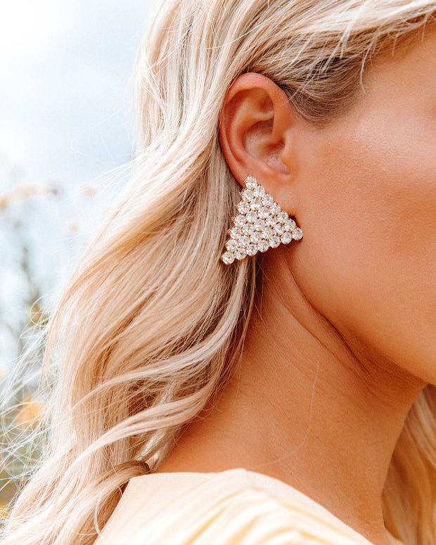 Bracha - Tania Triangle Earrings view 3