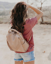 Brette Convertible Backpack - Natural view 1
