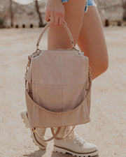 Brette Convertible Backpack - Natural view 5