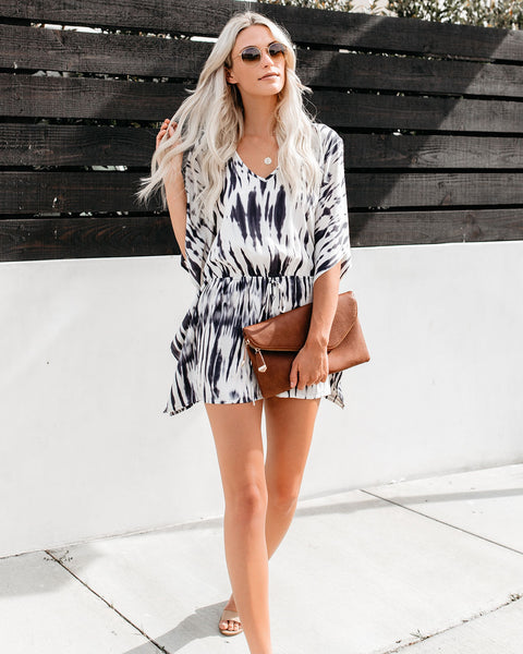 By The Light Of The Moon Kimono Romper
