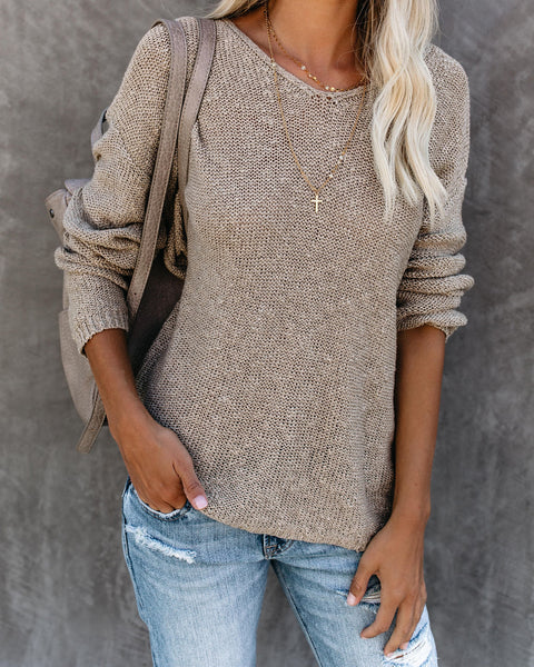 Cafe All Day Knit Sweater