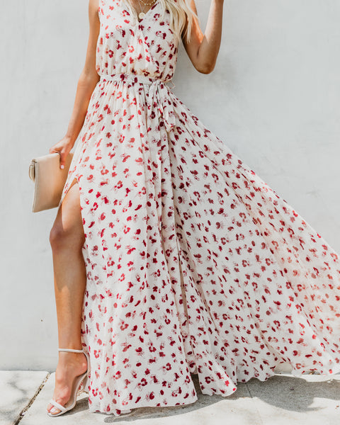 Calandiva Sleeveless Diana Maxi Dress - FINAL SALE