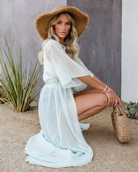Calm Cool Collected Duster Kimono - FINAL SALE