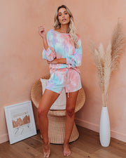 Calm Cool Collected Tie Dye Knit Top
