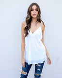 Must Be Nice Cami Tank - Off White