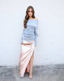 Sippin' Champagne Maxi Skirt - FINAL SALE