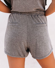 Campsite Pocketed Knit Shorts - FINAL SALE