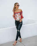 Cancun Cutie Off The Shoulder Top - FINAL SALE