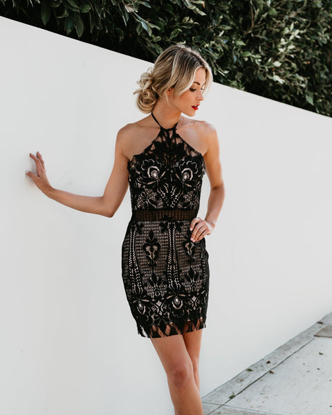 Candlelight Lace Dress