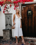 On The Dock Cotton Jumpsuit