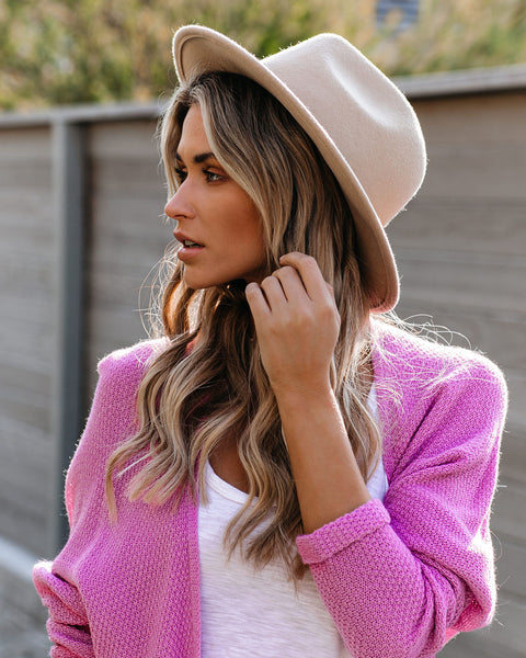 Cape Town Hat - Beige - FINAL SALE