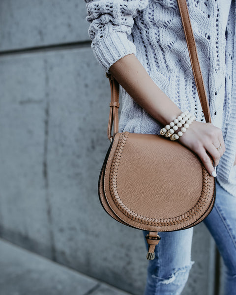 Serendipity Crossbody Bag - Tan