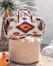Carlyle Cotton Woven Weekender Bag view 1