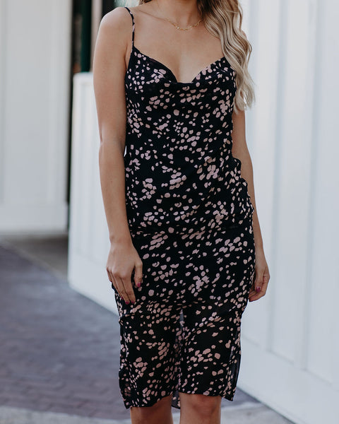 Carrington Printed Midi Slip Dress  - FINAL SALE
