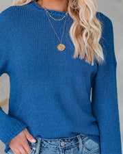 Catch The Ferry Knit Sweater