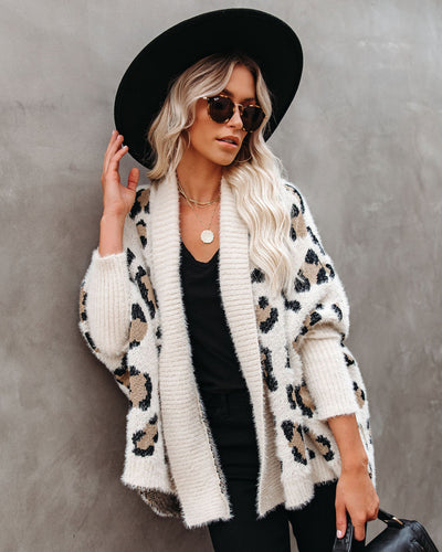 PREORDER - Cat's Out Of The Bag Relaxed Cardigan