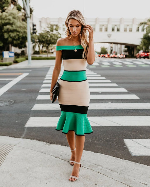 Center Of Attention Bodycon Dress