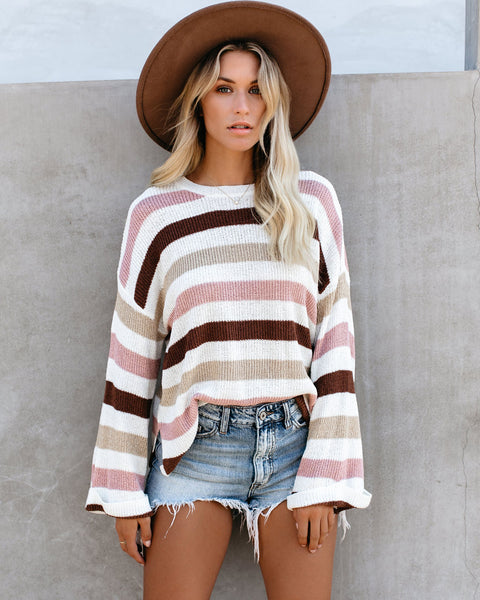 Charlie Striped Knit Sweater